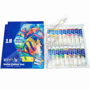 Reeves Water Colour Set 12ml 18clr