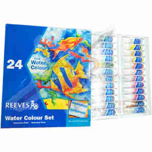 Reeves Water Colour Set 12ml 24clr